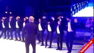 Volkan Demirel, Hasan Ali Kaldırım'ın düğününde horon tepti