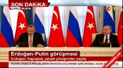 Cumhurbaşkanı Erdoğan: İlişkilerin eski seviyeye taşınmasında kararlıyız