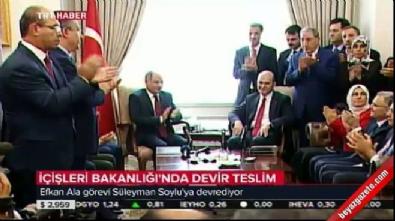 Efkan Ala görevi Süleyman Soylu'ya devretti