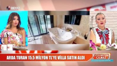 Arda Turan 15,5 milyon TL'ye villa aldı