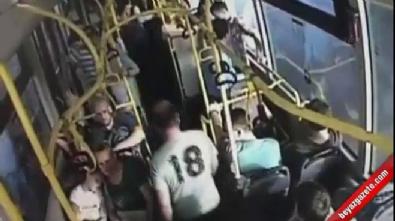 Otobüste Hemşireye Tekme Atan Zanlı Tekrar Adliyeye Sevk Edildi