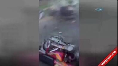 Yasa dışı yarışta katliam gibi kaza!
