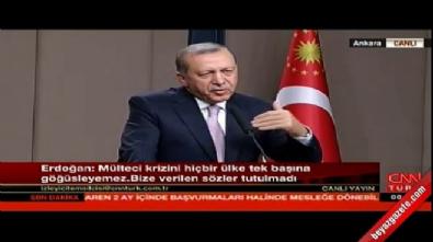 Cumhurbaşkanı Erdoğan: Kimse bizi aldatmaya kalkmasın