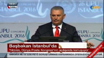Başbakan konuşmasını İngilizce tamamladı