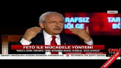 Kılıçdaroğlu FETÖ'nün kanallarını savundu