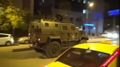 Polis karakoluna taciz ateşinin ardından büyük patlama!