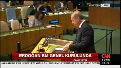 Cumhurbaşkanı Recep Tayyip Erdoğan'ın Birleşmiş Milletler (BM) Konuşması - Dünya Beşten Büyüktür