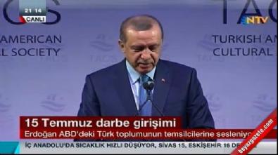 Cumhurbaşkanı Erdoğan: ABD'ye anlatamadık