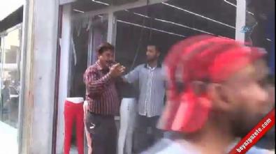 Kilis'e, Suriye'den roket atıldı... Olay yerinden ilk görüntüler
