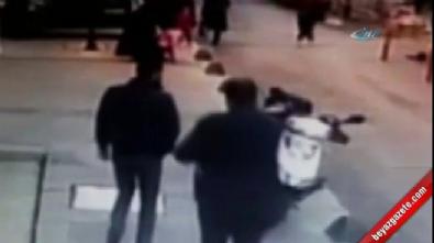 Yola fırlayan küçük kıza motosiklet çarptı