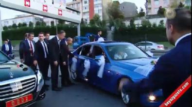 Başbakan Yıldırım'dan düğün konvoyu sürprizi Haberi