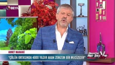Ahmet Maranki zemzem suyunun mucizesini anlattı