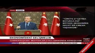 Cumhurbaşkanı Erdoğan'dan Moody's'in not indirimine çok sert tepki Haberi