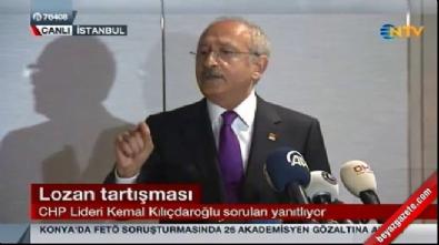 Kılıçdaroğlu'ndan Lozan tepkisi