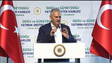 Başbakan Binali Yıldırım Diyarbakır'da müjdeleri sıraladı
