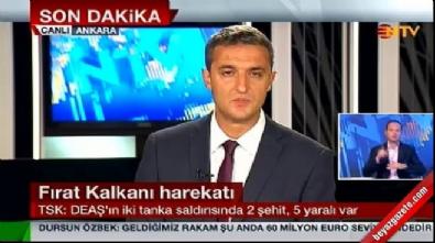 TSK: DAEŞ'ın iki tanka saldırısında 2 şehit, 5 yaralı