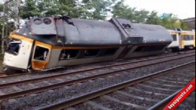 İspanya'da tren kazası