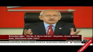 Kılıçdaroğlu: Tam bir cadı avı başlatılmıştır