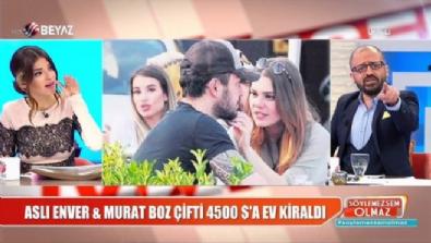 Murat Boz ve Aslı Enver 4500 dolara ev kiraladı