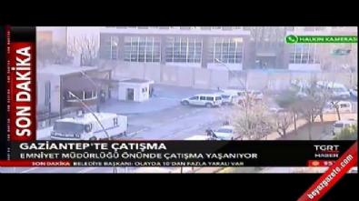 Gaziantep'te çatışma çıktı