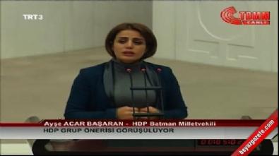 HDP'li Başaran rezil oldu