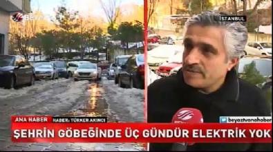 İstanbul'un göbeğinde elektrik rezaleti