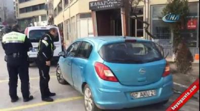 Uyuya kalan hırsızlara polisten kelepçeli uyandırma