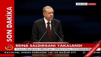 Cumhurbaşkan Erdoğan Beştepe'de açılış töreninde konuştu