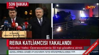 İstanbul Valisi ve İstanbul Emniyet Müdürü'nden Reina saldırganı açıklaması