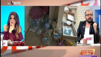 Teröristin yakalandığı evin içinden çarpıcı görüntüler