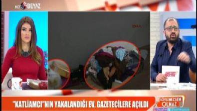 Katliamcının yakalandığı evden çarpıcı görüntüler