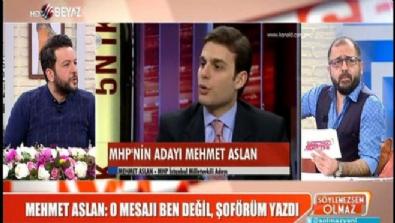 Cumhurbaşkanı Erdoğan'a hakaret eden Mehmet Aslan mı şoförü mü?