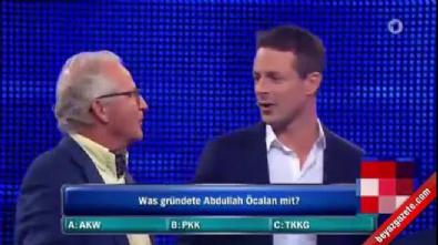abdullah ocalan - Alman devlet televizyonunda Öcalan sorusu