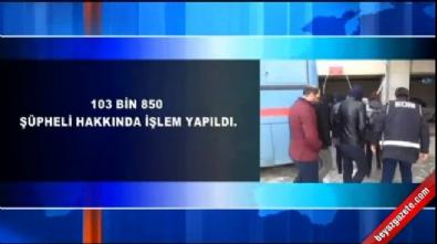 FETÖ'den 41 bin 326 kişi tutuklandı