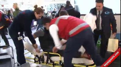 Saldırıda yaralanan ABD'li yazılımcı, ülkesine döndü