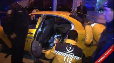 Ticari taksideki yolculara kurşun yağdırdılar: 1 ölü, 2 yaralı