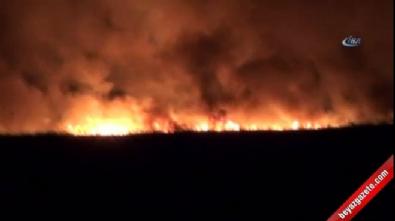 Göksu Deltası'nda yangın