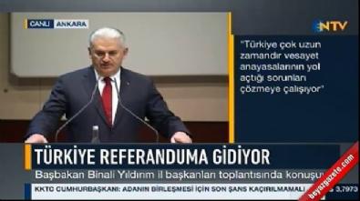 Başbakan Yıldırım: O zaman Atatürk'ün seçimi de sakat