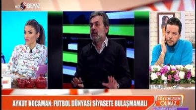Aykut Kocaman: Futbol dünyası siyasete bulaşmamalı