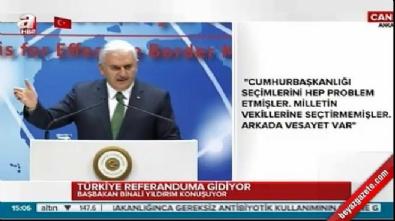 Başbakan Yıldırım, Dünya Gümrük Günü'nde konuştu
