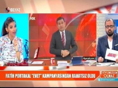fatih portakal - Fatih Portakal'a en sert cevabı Bircan İpek verdi