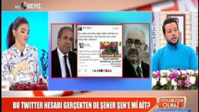 Şamil Tayyar'dan Şener Şen Tweetine açıklama