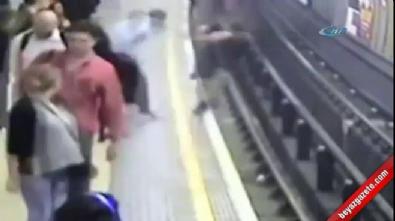 Londra metrosunda korkunç olay