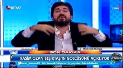 aziz yildirim - Rasim Ozan Beşiktaş'ın yeni golcüsünü açıkladı