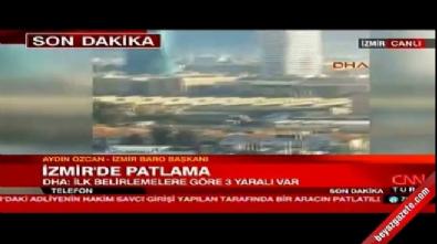 İzmir Adliyesi'nde patlama! Görgü tanıkları: Canlı bomba öldürüldü