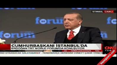 recep tayyip erdogan - Cumhurbaşkanı Erdoğan: Böyle bir dünyada yaşamak istemiyorum
