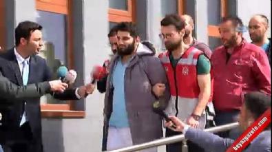 Ataşehir'de kadını yumruklayan saldırganın adliyeye sevk edildi