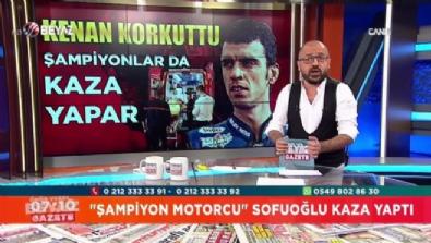 Kenan Sofuoğlu korkuttu!