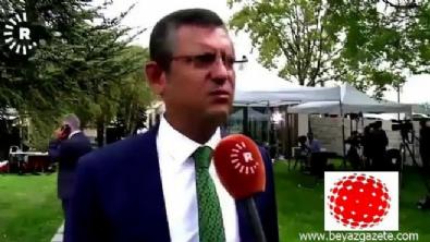 chp - Özgür Özel, Rudaw'da Türkiye'yi şikayet etti