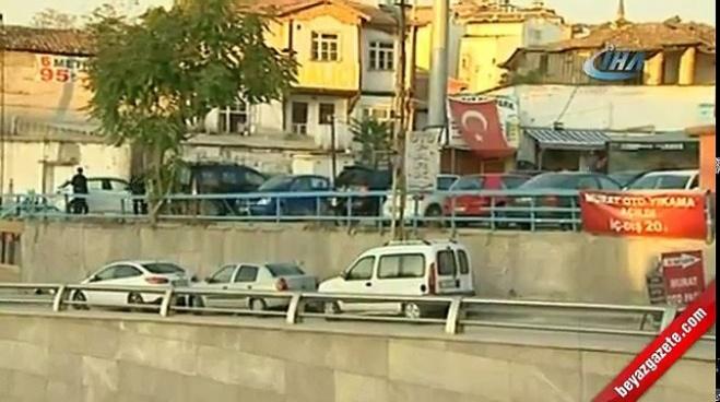 silahli saldiri - Başkent'te film sahnelerini aratmayan çatışma